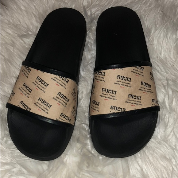 a1c4bd17f Gucci Shoes   Spring Summer 2018 Slides W Box   Poshmark